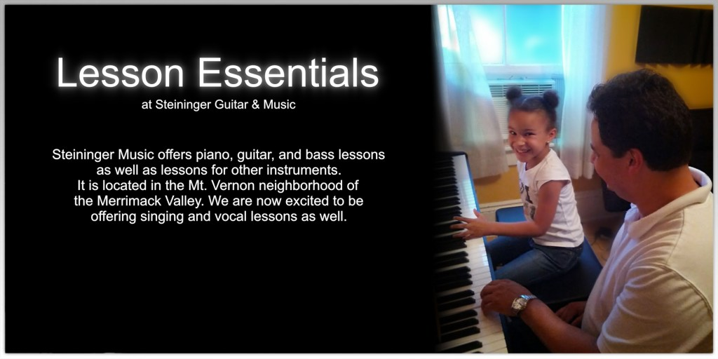 Lessons offered at Steininger Music