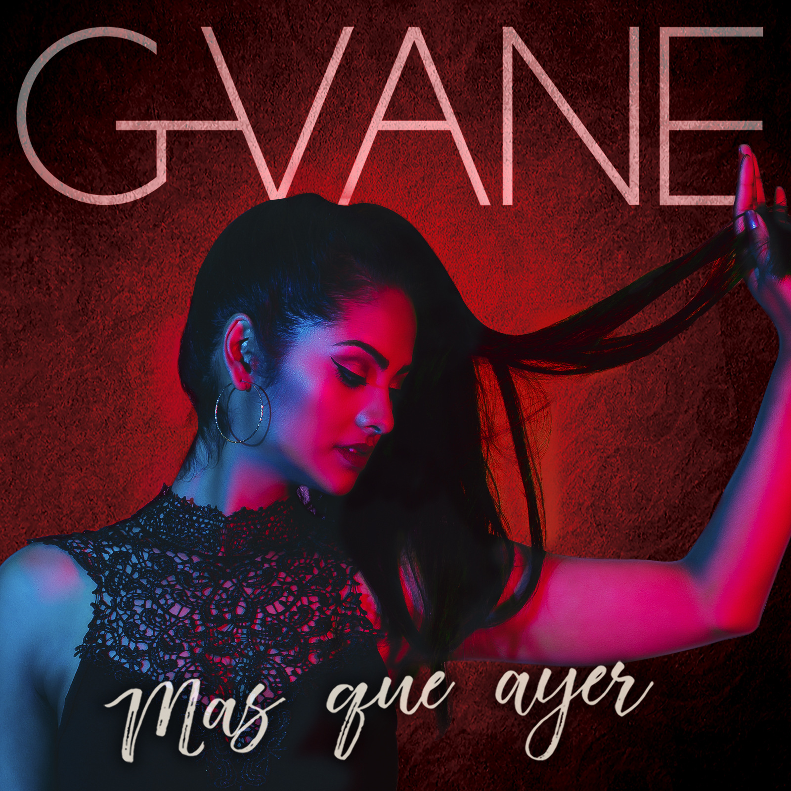 Cover photo for single release 'Mas Que Ayer'